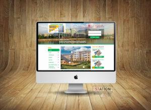 Создание сайта жилого комплекса (застройщик)