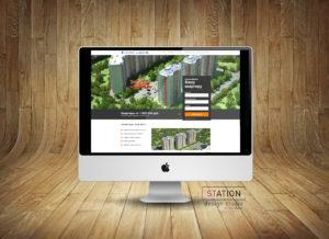 Создание сайта жилого комплекса для риэлтора