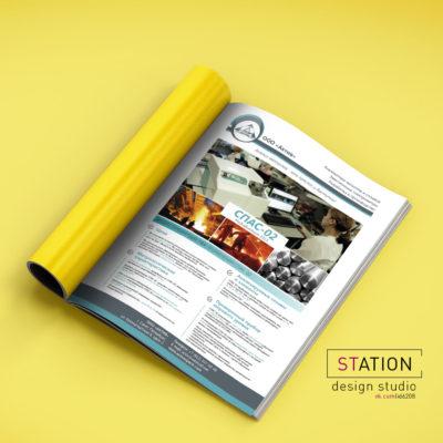 Дизайн рекламного модуля журнала
