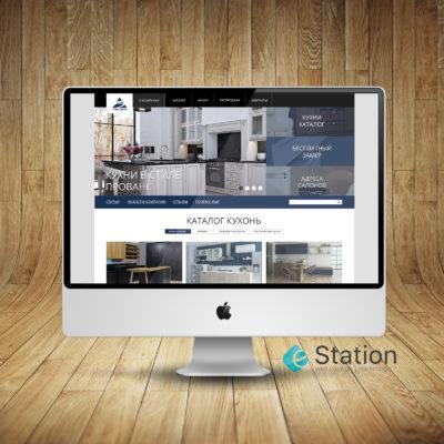 Дизайн сайта для мебельной фабрики ZOV