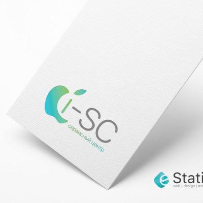 Разработка логотипа для сервисного центра Apple